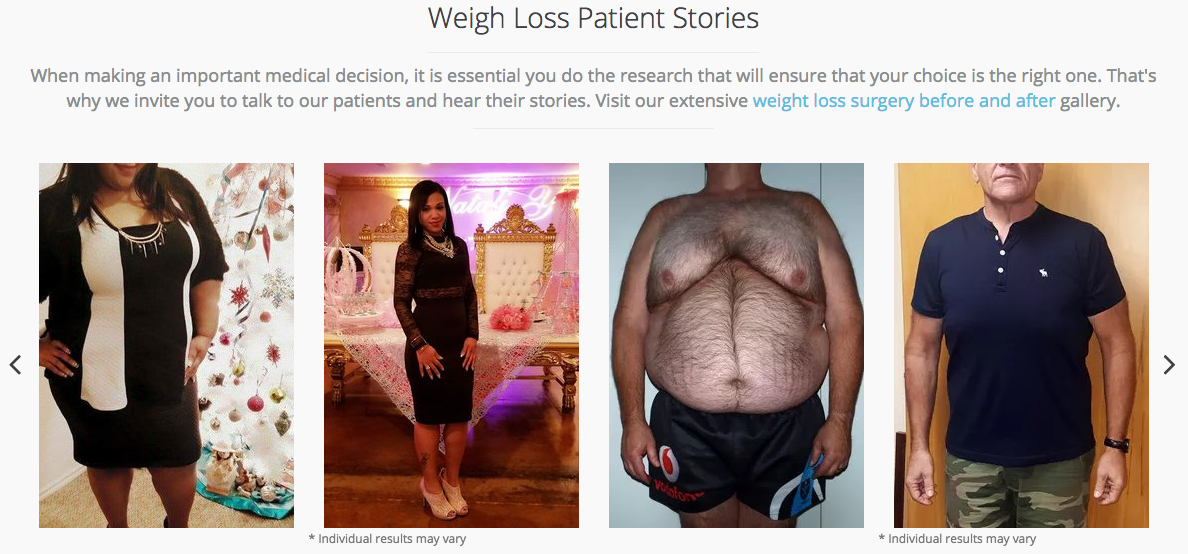 Before and Afters Obesity Control Center