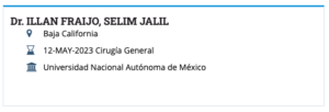Dr. Jalil Illan Board-Certification
