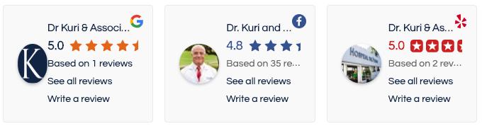 Dr. Kuri Reviews