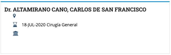 Dr. Carlos Altamirano Board Certification