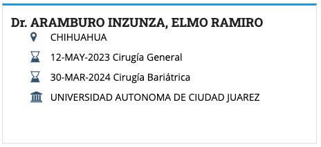 Dr. Elmo Ramiro Aramburo Inzunza