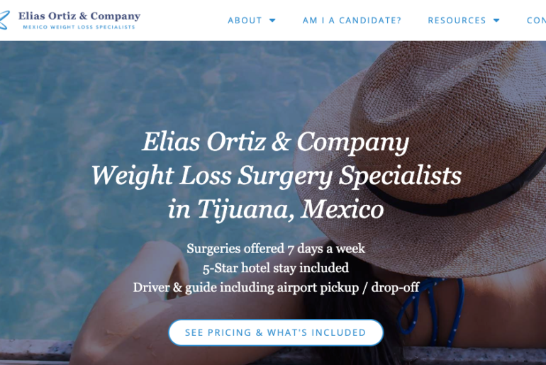 Elias Ortiz & Company Screenshot