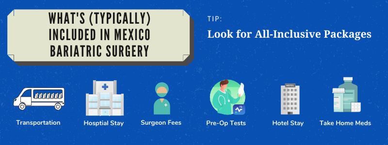 What's (Typically) Included in Mexico Bariatric Surgery